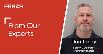 Dan Tandy, Safety and Operator Training Manager
