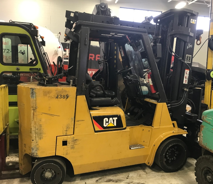 2015 caterpillar gc55kstr