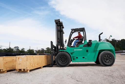 mitsubishi large pneumatic truck