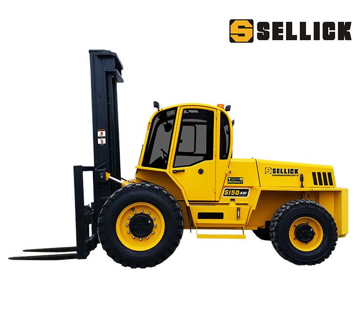 Sellick S150 rough terrain forklift